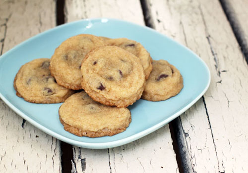 chocolate chip amish puff cookies from @janemaynard