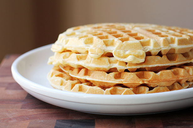Recipe for Classic Waffles from Better Homes & Gardens, what my mom always made growing up