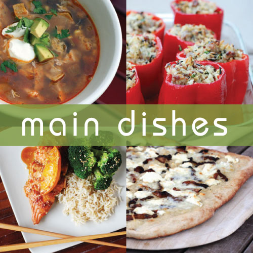 "this week for dinner blog ""main dishes"" recipes from @janemaynard"