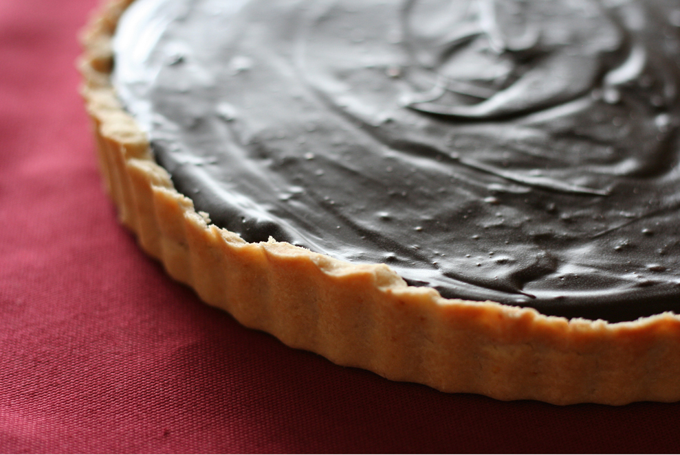 Chocolate Ganache Tart With Meringue Recipes — Dishmaps