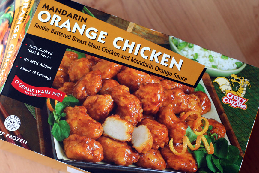 This week for dinner costcos orange chicken short grain brown the brand is crazy cuisine forumfinder Choice Image