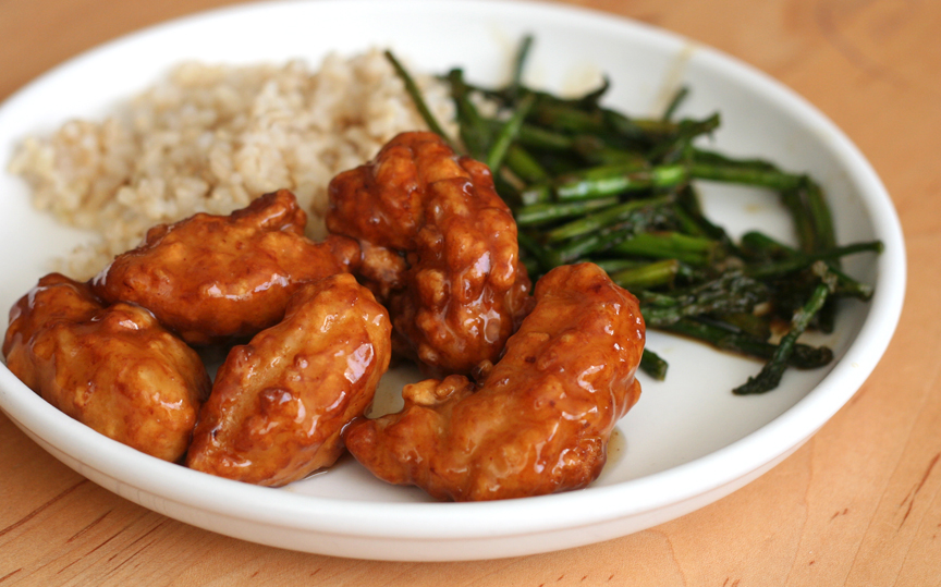 This Week For Dinner Costcos Orange Chicken Short Grain Brown