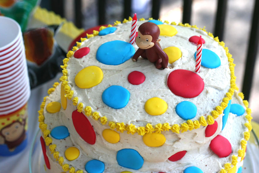 Surprising This Week For Dinner How To Make A Polka Dot Cake This Week For Funny Birthday Cards Online Fluifree Goldxyz