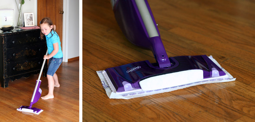 how to turn on swiffer wet jet