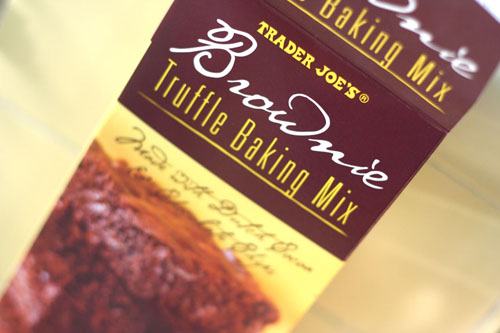 trader joes brownie mix