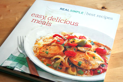 real simple cookbook web