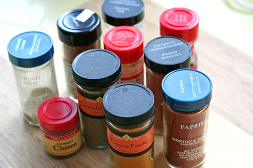 spices for indian food web