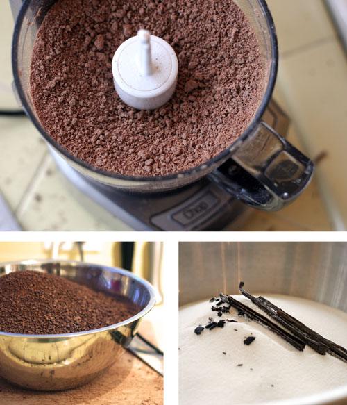 homemade hot chocolate preparation web