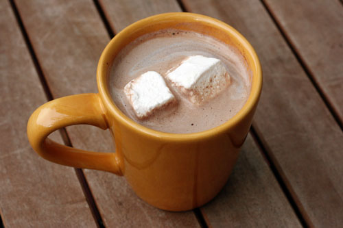 homemade hot chocolate web
