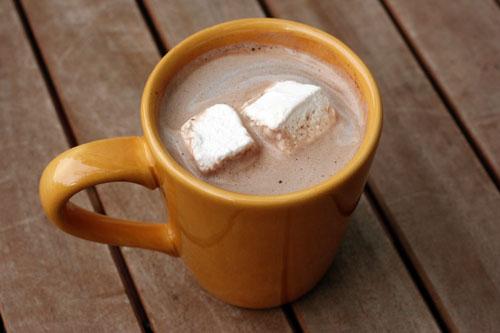 homemade hot chocolate web