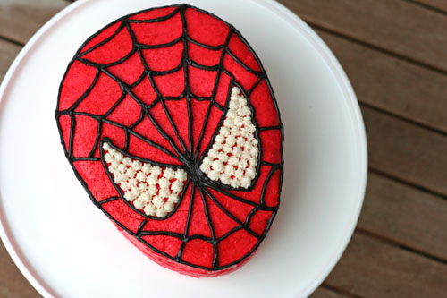 spiderman 3d cake. spiderman birthday cake 1 web