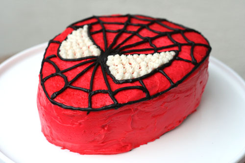 spiderman cake 2 web