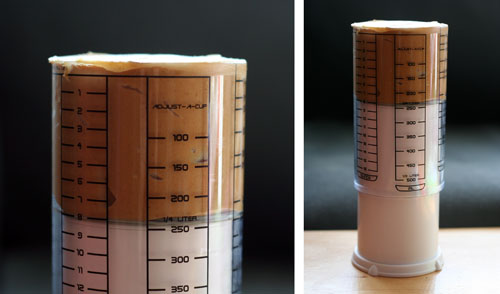adjust a cup web