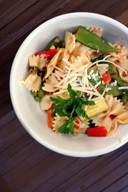 moosewood restaurant's pasta primavera from @janemaynard