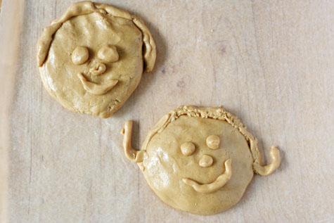 peanut butter playdough happy m&t