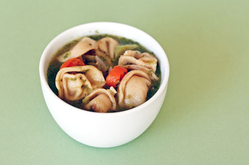pesto tortellini soup web