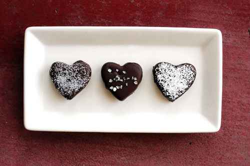 recipe for truffle hearts from @janemaynard