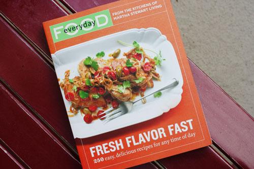 everyday food cookbook web