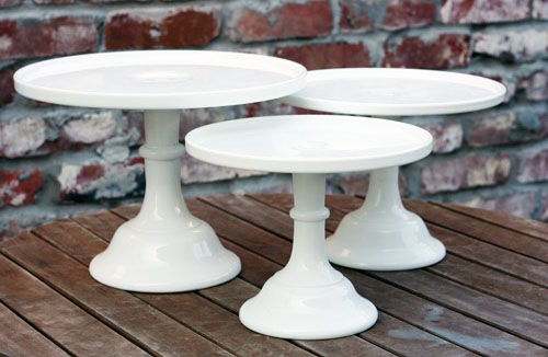 cambria cove milk glass cake stand set web