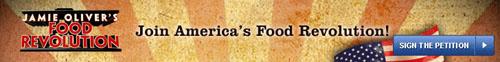 jamie oliver's food revolution banner
