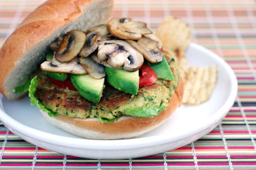 vegetarian chickpea burgers 1 web