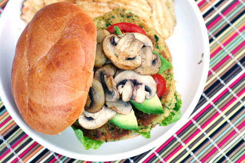 vegetarian chickpeak burgers 2 web