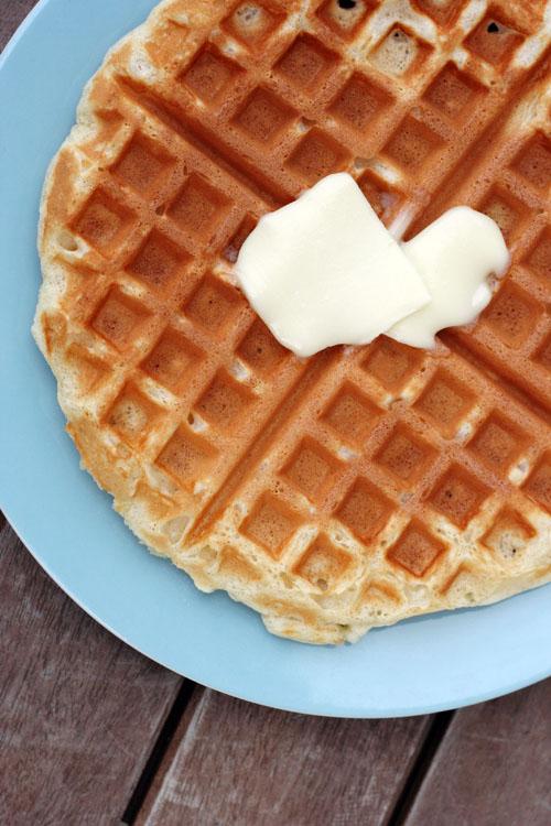 favorite waffle recipe from @janemaynard