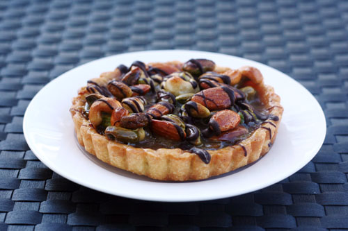 faye's spanish nut tart from @janemaynard