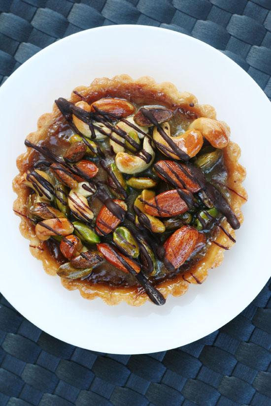 faye's spanish nut tart from @janemaynard