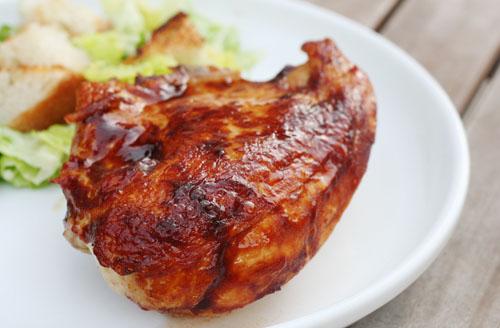 oven barbecue chicken web