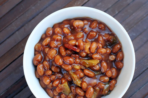 Recipes baked beans