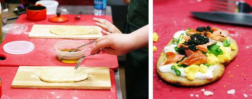 food blogger workshop cooking web