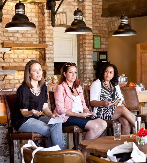 food blogging panel