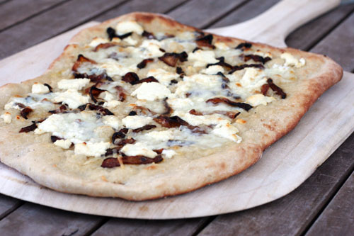 ... Honey Goat Cheese Pizza with Caramelized Onions - This Week for Dinner