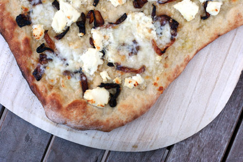 Yesterday i cooked pizza myself yummy what do you think Foto