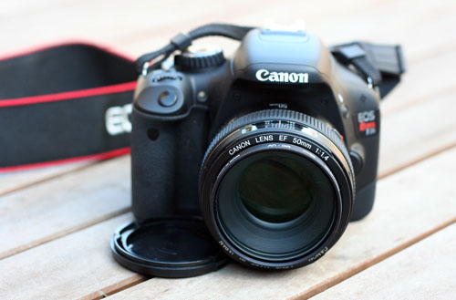 Canon Rebel T2i web