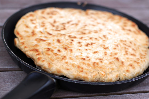 How to make biscuit skillet bread like Jacque Pepin from This Week for Dinner