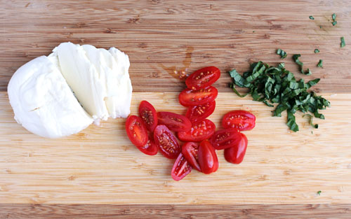 caprese salad ingredients from @janemaynard