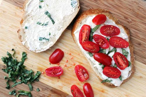 caprese panini stacking | thisweekfordinner.com
