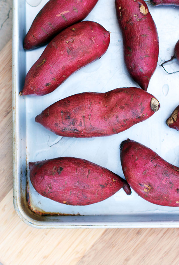 What Japanese sweet potatoes look like from This Week for Dinner