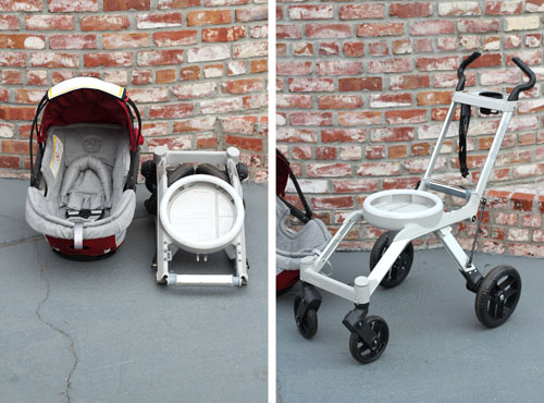 This Week for Dinner: Gearing Up for Baby: Orbit Stroller Travel ...