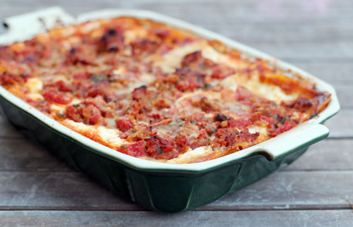 this week for dinner: deeeeelicious lasagna recipe - this week for