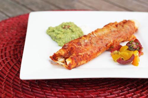 homemade enchilada sauce from @janemaynard