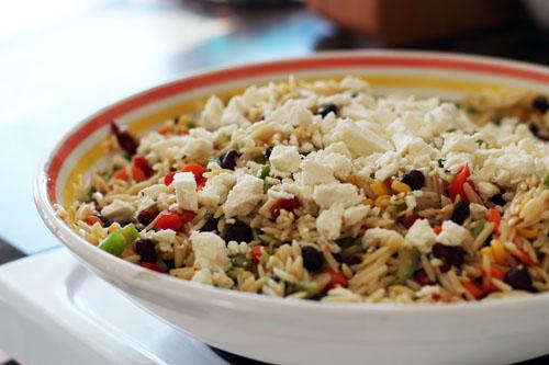Orzo Salad Yumminess