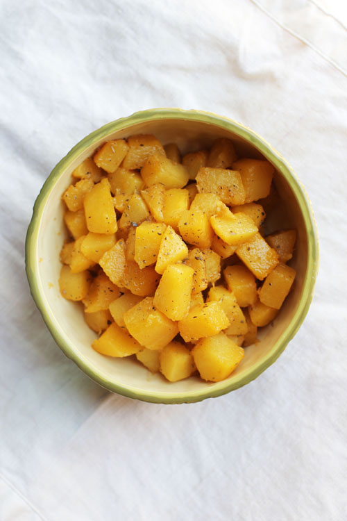 brown butter squash with sage by @janemaynard from thisweekfordinner.com