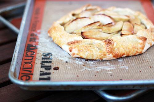 caramel apple galette oven fresh | thisweekfordinner.com