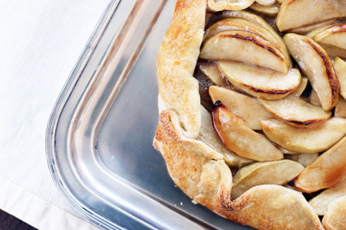 Caramelized Apple Galette Recipe — Dishmaps