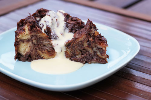 ... for Dinner: Chocolate Croissant Bread Pudding - This Week for Dinner