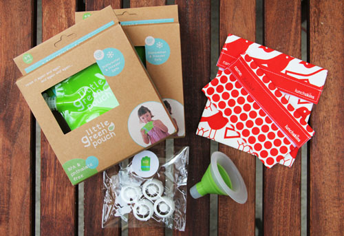 Little Green Pouch and LunchSkins Giveaway