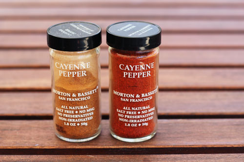 old cayenne pepper